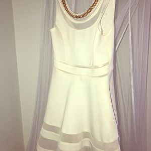 Marciano girls white dress
